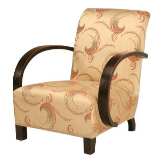 Remarkable Authentic Original Unrestored French 40's Club Chair