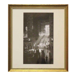George Daniell Grand Central Station Reprint Photo Signed