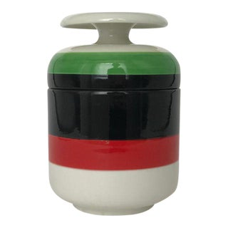 Mid-Century Modern Mancioli Ceramic Canister