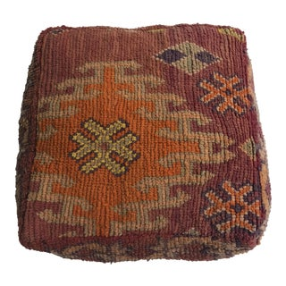 100% Wool Moroccan Made Pouf