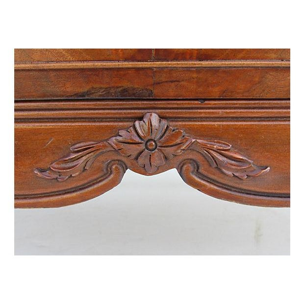 Vintage French Provincial Chest on Chest Dresser - Image 6 of 7