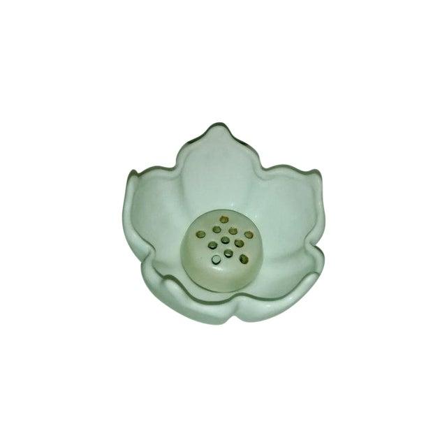 Vintage Van Briggle White Lotus Vase - Image 1 of 7