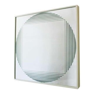 "Fontana Arte ""Brama"" Illuminated Mirror"