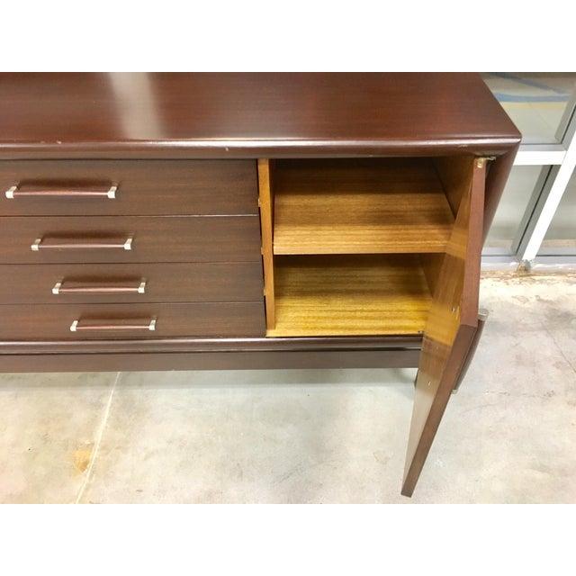 Brown Saltman Mid-Century Dresser Buffet Credenza - Image 5 of 11