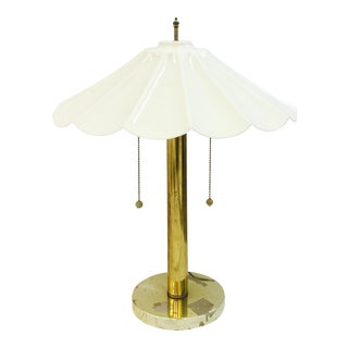 Vintage Mid-Century Modern Brass Lamp