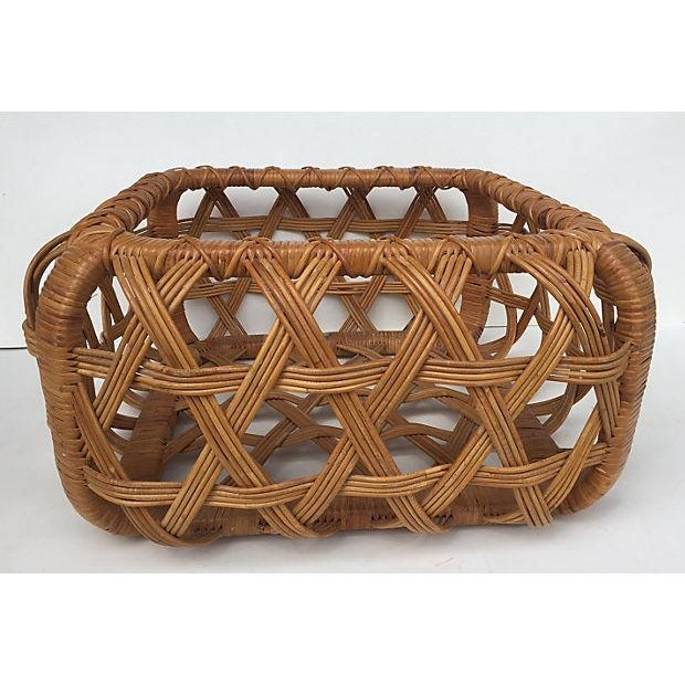 Danny Ho Fong for Tropi Cal Rattan Coffee Table - Image 7 of 7