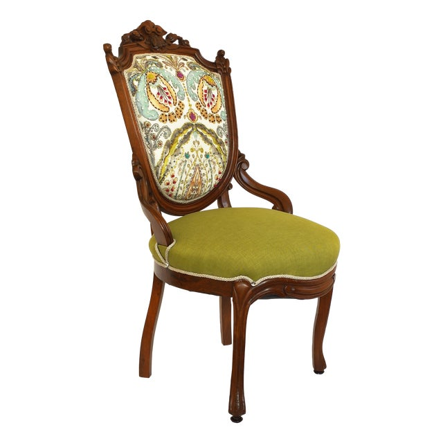 Victorian Parlor Side Chair Chairish