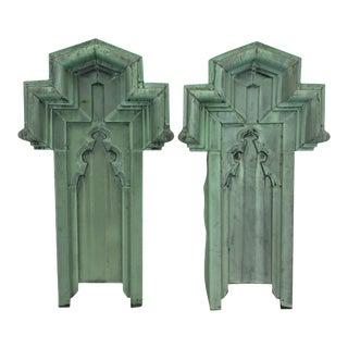 19th Century Copper Panels - A Pair