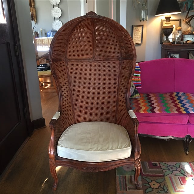 Antique Porter's Chair - Image 6 of 10