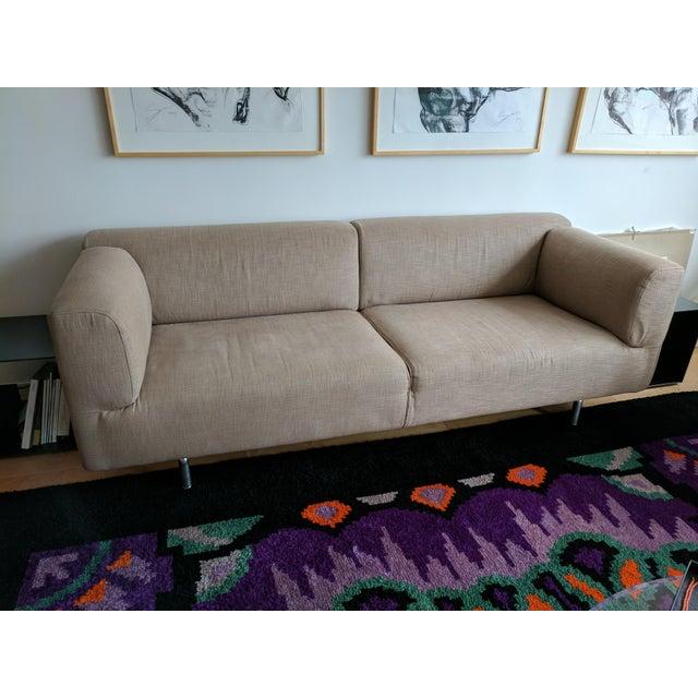 Cassina Met 250 Beige Sofa by Piero Lissoni - Image 3 of 10