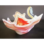 Image of Vintage Murano Swan Bowl