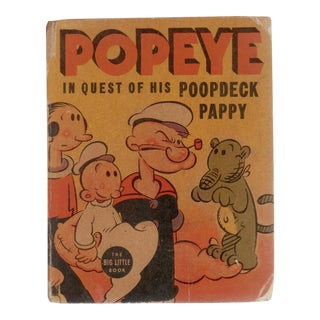 """1937 """"Popeye: In Quest of His Poopdeck Pappy"""""""