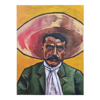 """Peter Geiszler """"Zapata"""" Painting"""