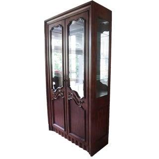 Hickory Curio Cabinet