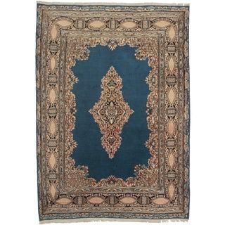 "RugsinDallas Vintage Persian Kerman Area Rug - 7'5"" X 10'4"""