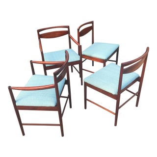 Mid-Century Modern Rosewood Dining Chairs - Set of 4