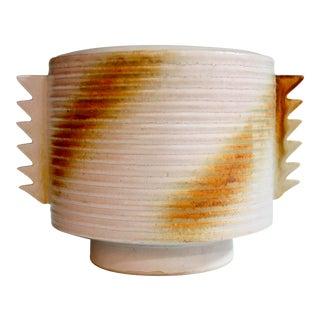 Deco Revival Art Pottery Vase