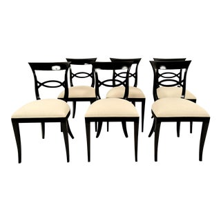 Regency-Style Dining Chairs - Set of 6