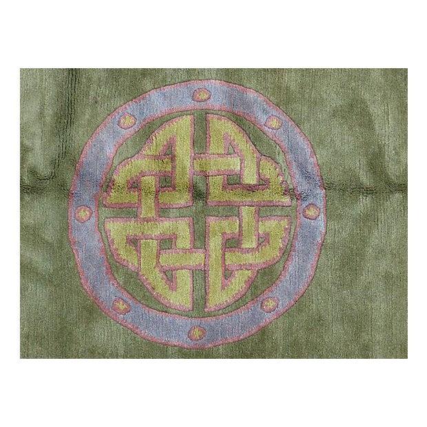 Nepalese Wool Rug- 6' x 9' - Image 4 of 11
