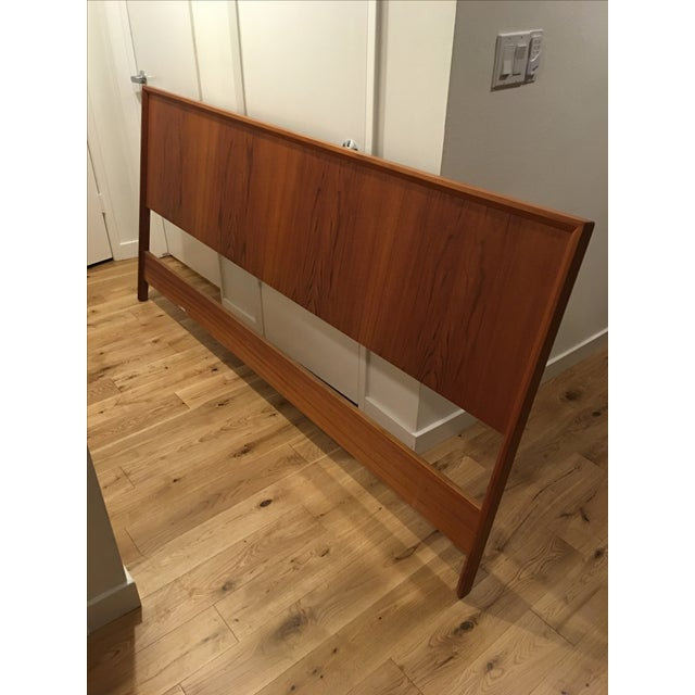 Teak King Size Headboard - Image 2 of 7