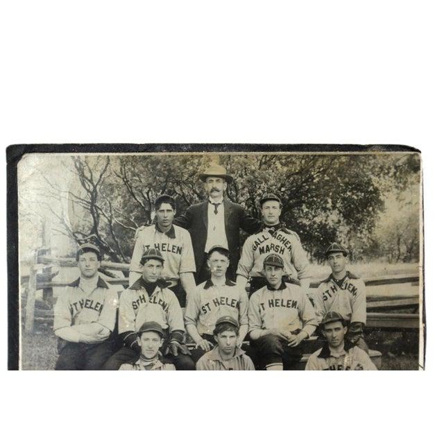 Antique san francisco st helena baseball photo chairish for Buy reclaimed wood san francisco