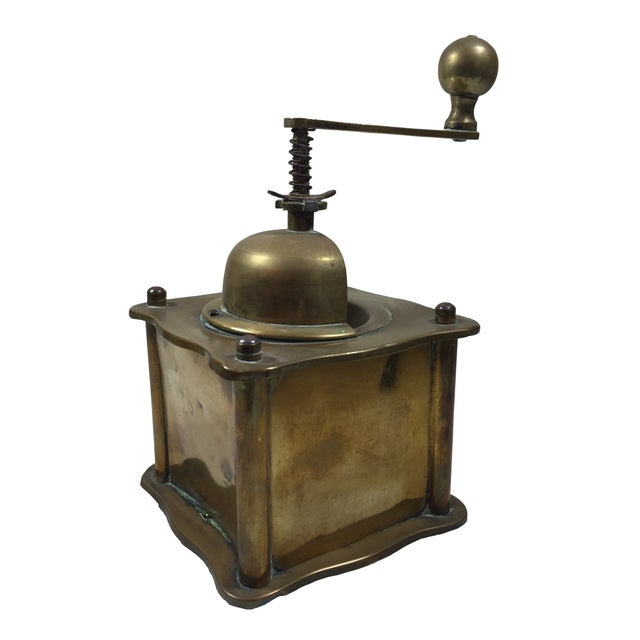 Victoria Kaveorlo Antique Coffee Grinder - Image 1 of 6