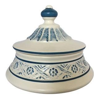 Round Ceramic Trinket Box by Royal Haeger