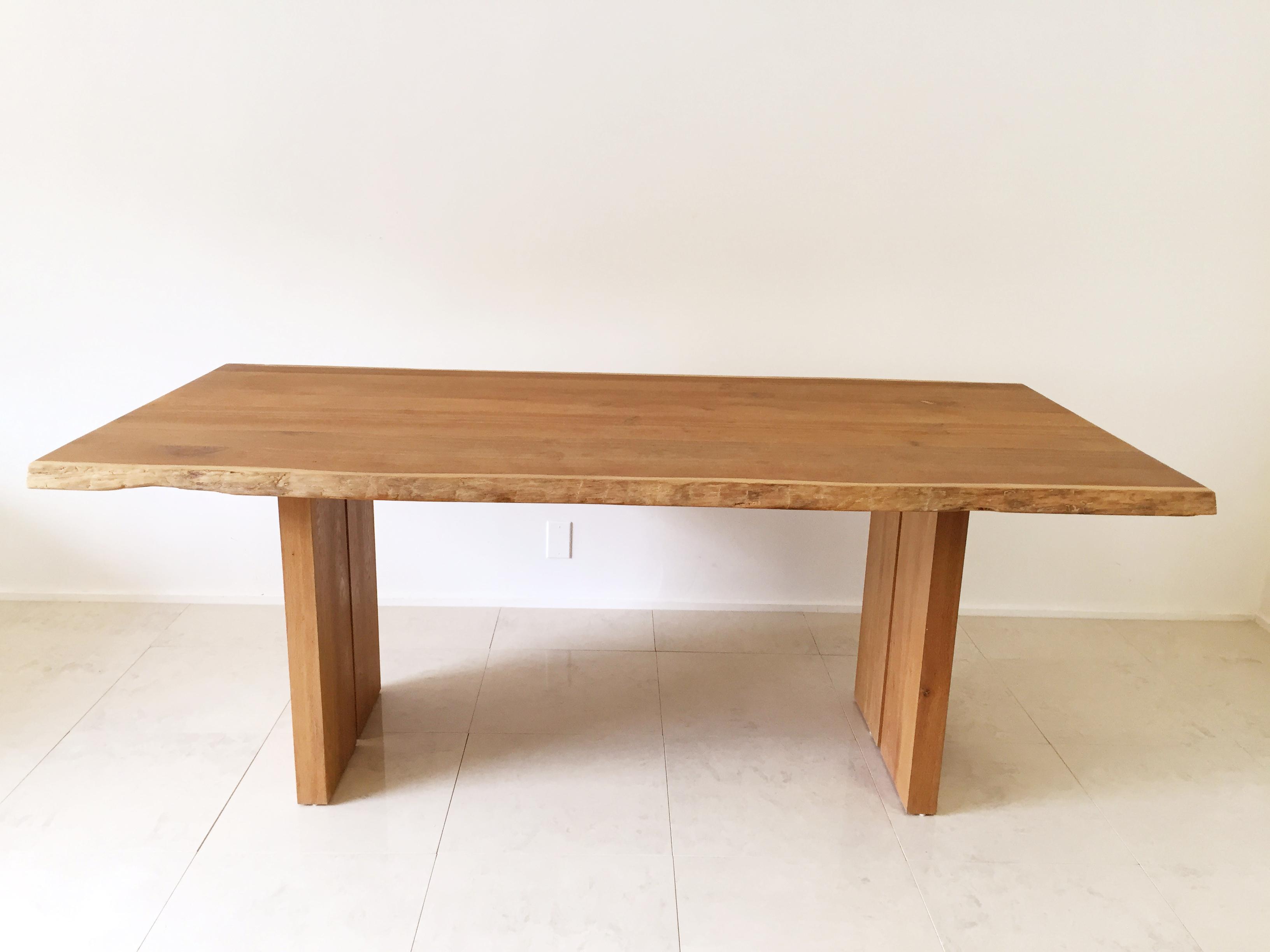 White Oak Slab Live Edge Dining Table Chairish : c636dae6 6258 40fa a314 5640b21766b0aspectfitampwidth640ampheight640 from www.chairish.com size 640 x 640 jpeg 20kB