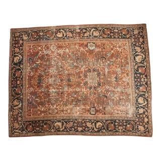 """Antique Mahal Carpet - 10'7"""" x 13'1"""""""