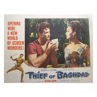 """1961 """"Thief of Baghdad"""" Lobby Card - 8 Piece Set"""