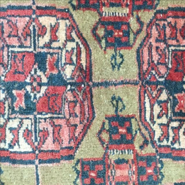 "Vintage Turkaman Persian Rug - 2'1"" X 2'7"" - Image 6 of 7"