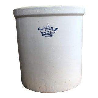 Antique 5 Gallon Stoneware Crock