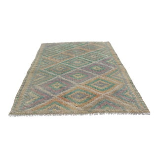 Vintage Turkish Kilim Rug - 6′3″ × 9′2″