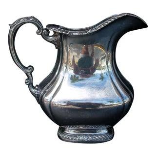 Gorham Silver Plate Water Pitcher