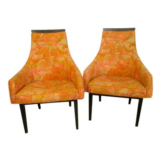 Mid-Century Modern Adrian Pearsall Chairs - A Pair