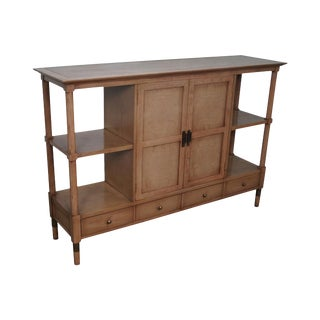 American of Martinsville Mid-Century Console Etagere Cabinet