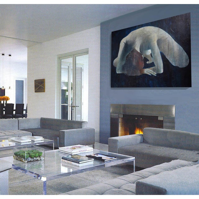 'Nuda Peccatum Aderit' Modern Painting - Image 8 of 9