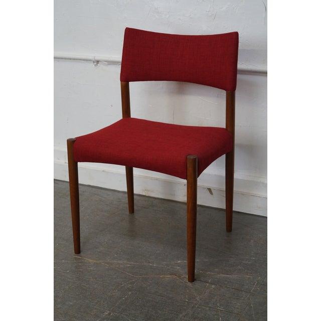 Vintage Danish Modern Teak Dining Chairs - Set of 8 - Image 11 of 11