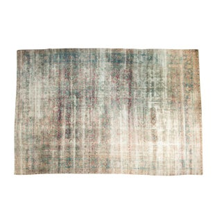 Antique Yezd Carpet - 9' x 13'3""