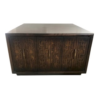 Brutalist Coffee Table Cabinet