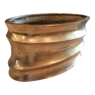 Tozai Large Home Gold Planter