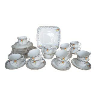 English Afternoon Tea 12-Service Set - Set of 40