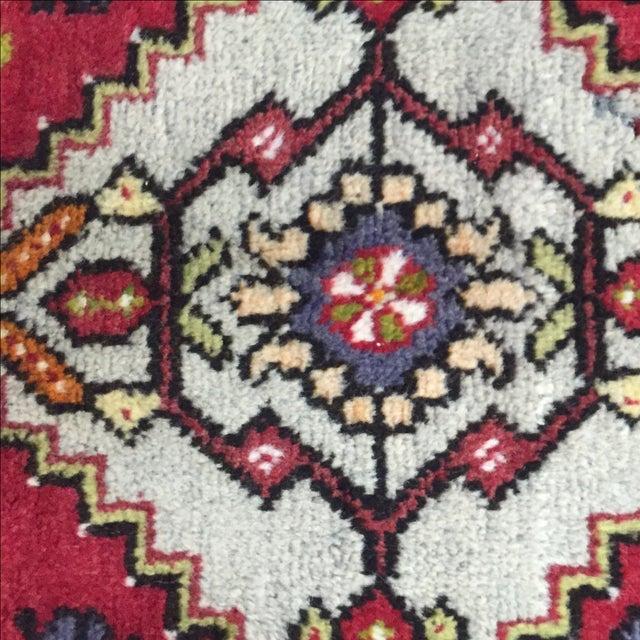 "Antique Anatolian Persian Rug - 1'7"" x 3'4"" - Image 7 of 8"