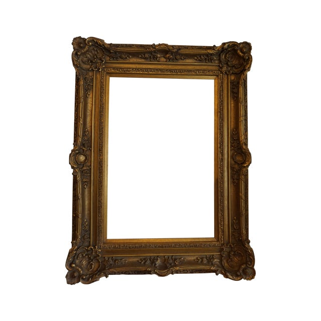 Oversized Gilded Picture Frame - Image 1 of 4