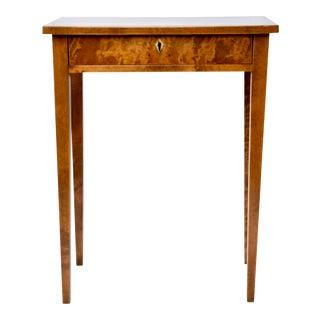 19th C. Biedermeier Side Table