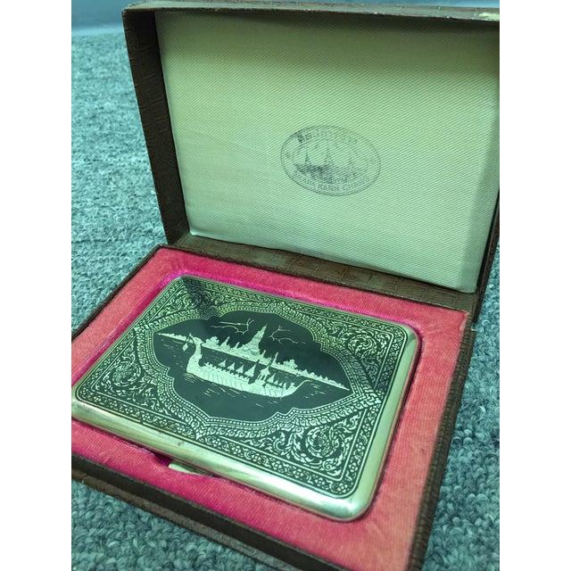 Siamese Sterling Cigarette Case - Image 6 of 6