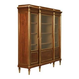 Mahogany Louis XVI Style Bookcase, circa 1900