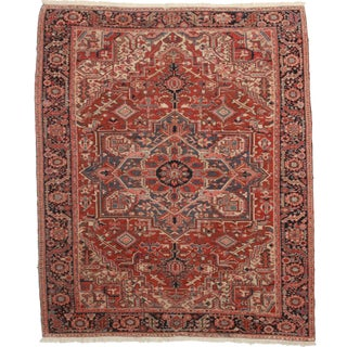 Hand Knotted Persian Hariz Rug - 8′1″ × 10′4″