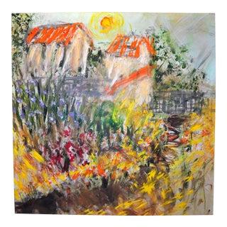 Tony LaSalle, the Walkway Painting