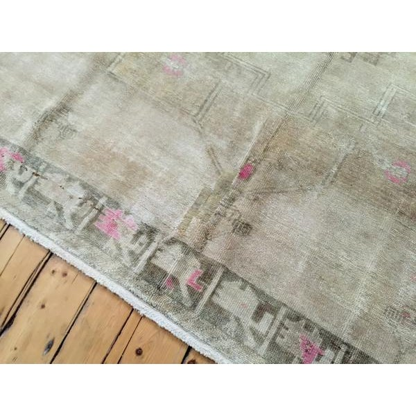 "Vintage Oushak Carpet - 8'3"" X 11'5"" - Image 6 of 7"